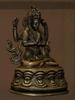 Bronze Chenrezig Statue