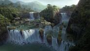 Hidden island concept art 3