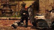 Lazarevic soldier.sub machine gunner.riot shield