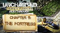 Uncharted Drake's Fortune (PS3) - Chapter 5 The Fortress - Playthrough Gameplay