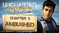 Uncharted Drake's Fortune (PS3) - Chapter 1 Ambushed - Playthrough Gameplay