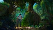 Amazon ruins concept art