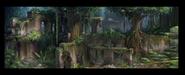 Hidden island concept art 4