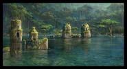 Drowned City concept art 4