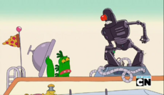 Mr Gus and Tiny Miracle in Scary Cyborg Guy 01.png