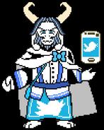 Twitter!Asgore