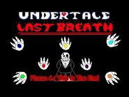 Undertale- Last Breath - -HARD MODE- An Enigmatic Encounter (Phase 4 Animation) (Fan Project)
