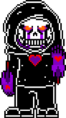DD sans battle sprite by xyne