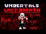 Undertale- Last Breath - -HARD MODE- Let's Burn In Hell Together (Phase 2