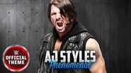 AJ Styles - Phenomenal (Entrance Theme)