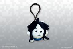 Temmie artwork keychain
