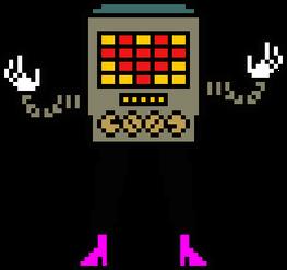 Calculator with leg
