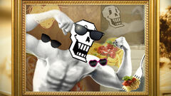 Papyrus artwork Steam card