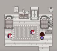 Su habitación