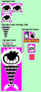 Pyrope-sprites