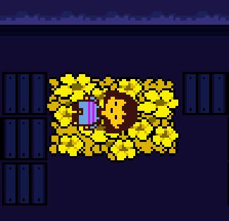 Золотые цветы
