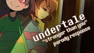 【undertale】 Stronger Than You parody (Chara&Frisk) ft