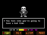 Song That Might Play When You Fight Sans