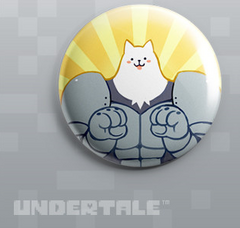 Greater Dog artwork pin