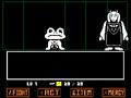 Toriel screenshot staring at Froggit