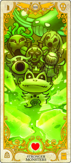 Stronger Monsters tarot