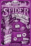 Spider Bake Sale artwork flyer