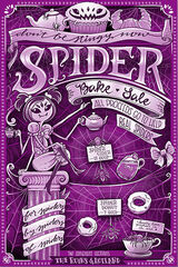 Spider Bake Sale artwork flyer