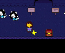 Temmie villiage SAVE point.png