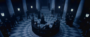 Semira confronts the Council