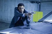 Sebastian shoots at Antigen guards
