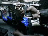 Munition ultraviolet