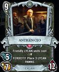 Card game Antigen CEO