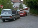 Wettrennen Ford Capri gegen Leichenwagen