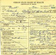 Multnomah County John Doe (November 23, 1926)