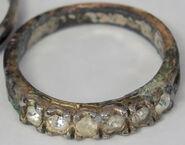 Princess Blue Multistone Ring
