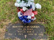 Berton McQueen Grave