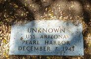 Pearl Harbor John Doe (1941-B-587)