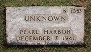 Pearl Harbor John Doe (1941-N-1083)