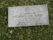 Welborn Lee Ashby Cenotaph