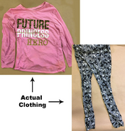 Clothing found on decedent