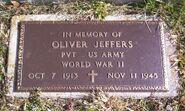 Oliver Jeffers Grave