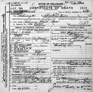 New Castle County John Doe (July 20, 1934)