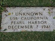 Pearl Harbor John Doe (1941-B-435)