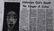 Newspaper Article 1973