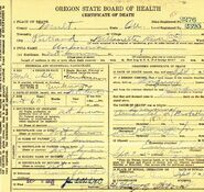 Multnomah County John Doe (September 6, 1926)