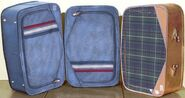 Beth Doe suitcases reconstructed