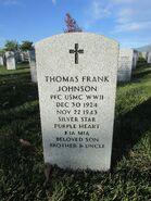 Thomas Frank Johnson Grave