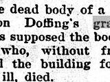 Dakota County John Doe (May 1893)
