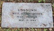 Pearl Harbor John Doe (1944-N-1639)