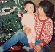 Bobby Whitt and mom